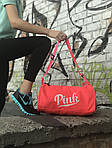 Женская спортивная сумка Pink (красная), фото 4