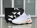 Кросівки Adidas Yeezy Boost 700 (білі) Унісекс, фото 8