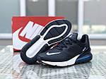 Чоловічі кросівки Nike Air Max 270 (темно-сині), фото 2