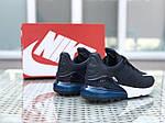 Чоловічі кросівки Nike Air Max 270 (темно-сині), фото 4