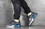 Чоловічі кросівки Nike Air Max 270 (темно-сині), фото 5