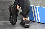 Мужские кроссовки Adidas ilie nastase (черные), фото 3