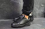 Мужские кроссовки Adidas ilie nastase (черные), фото 6