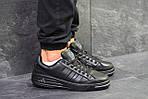 Мужские кроссовки Adidas ilie nastase (черные), фото 7