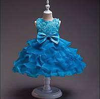 Детское нарядное пышное платье р 98, 104, 110, 116, 122