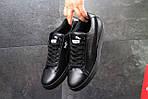 Чоловічі кросівки Puma Suede (чорні), фото 4