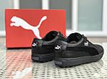 Чоловічі кросівки Puma Suede (чорні), фото 5