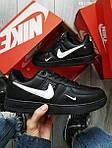 Чоловічі кросівки Nike Air Force 1 LV8 (чорні), фото 2
