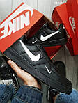Чоловічі кросівки Nike Air Force 1 LV8 (чорні), фото 4