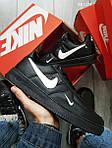 Мужские кроссовки Nike Air Force 1 LV8 (черные), фото 4