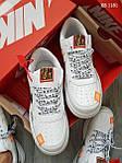 Чоловічі кросівки Nike Air Force Low (білі), фото 2