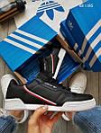 Чоловічі кросівки Adidas Continental 80 (чорно-білі), фото 4