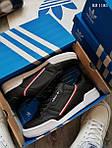 Чоловічі кросівки Adidas Continental 80 (чорно-білі), фото 5