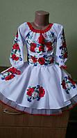 """Вышитое платье для девочки """"Ульяна  """"  размера 92, 94, 104, 110   в этническом стиле ,   купить"""