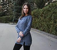 """Свитер женский зимний удлиненный """"Donat"""", фото 1"""