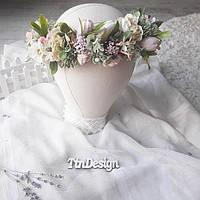 Венок на голову. Свадебный венок. Венок с полевых цветов. Венок нежный. Венок с розами. Венок для фотосессии