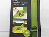 Мерная ложка для специй, очистка зелени, шумовка, 3в1, фото 5