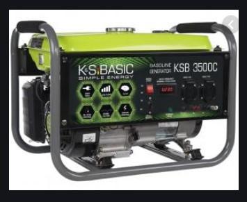 Бензиновый генератор K&S BASIC KSB 3500C