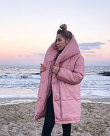 Теплая курточка (цвет- розовый, ткань - плащёвка лаке + силикон 300) Размеры S,М,L (розница и опт)