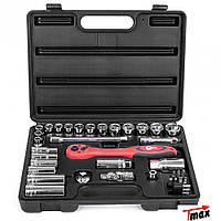 Профессиональный набор инструментов, головок Intertool ET-6072 (72 предмета)