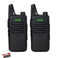 КОМПЛЕКТ ИЗ ДВУХ РАЦИЙ WLN KD-C1 UHF 400-470 MHz. Комплект рацій WLN KD-C1 (Zastone X6 )