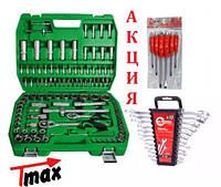 Набор инструментов 108 ед.Intertool ET-6108SP + набор ключей 12 ед.HT-1203 +Набор ударных отверток 6 штHT-0403