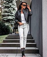 Куртка короткая (цвет- черный, ткань - плащевка + синтепон) Размеры S,М,L (розница и опт)