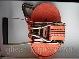 Стяжные грузовые ремни с трещеткой M-Safe 12м