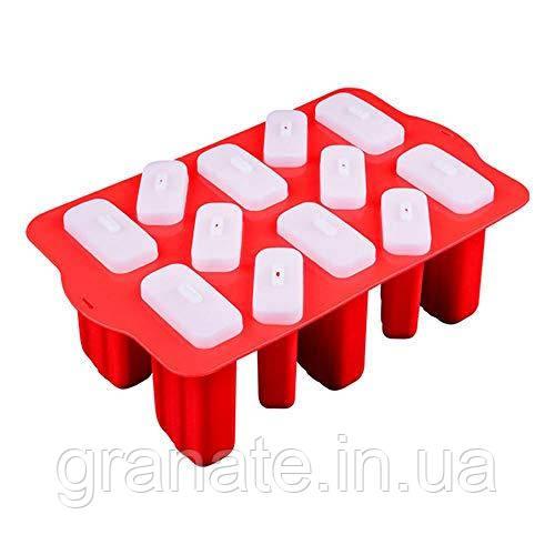 Форма для мороженого Эскимо на 12 ячеек