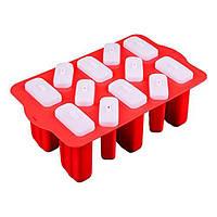 Силиконовая форма для мороженого на 12 ячеек