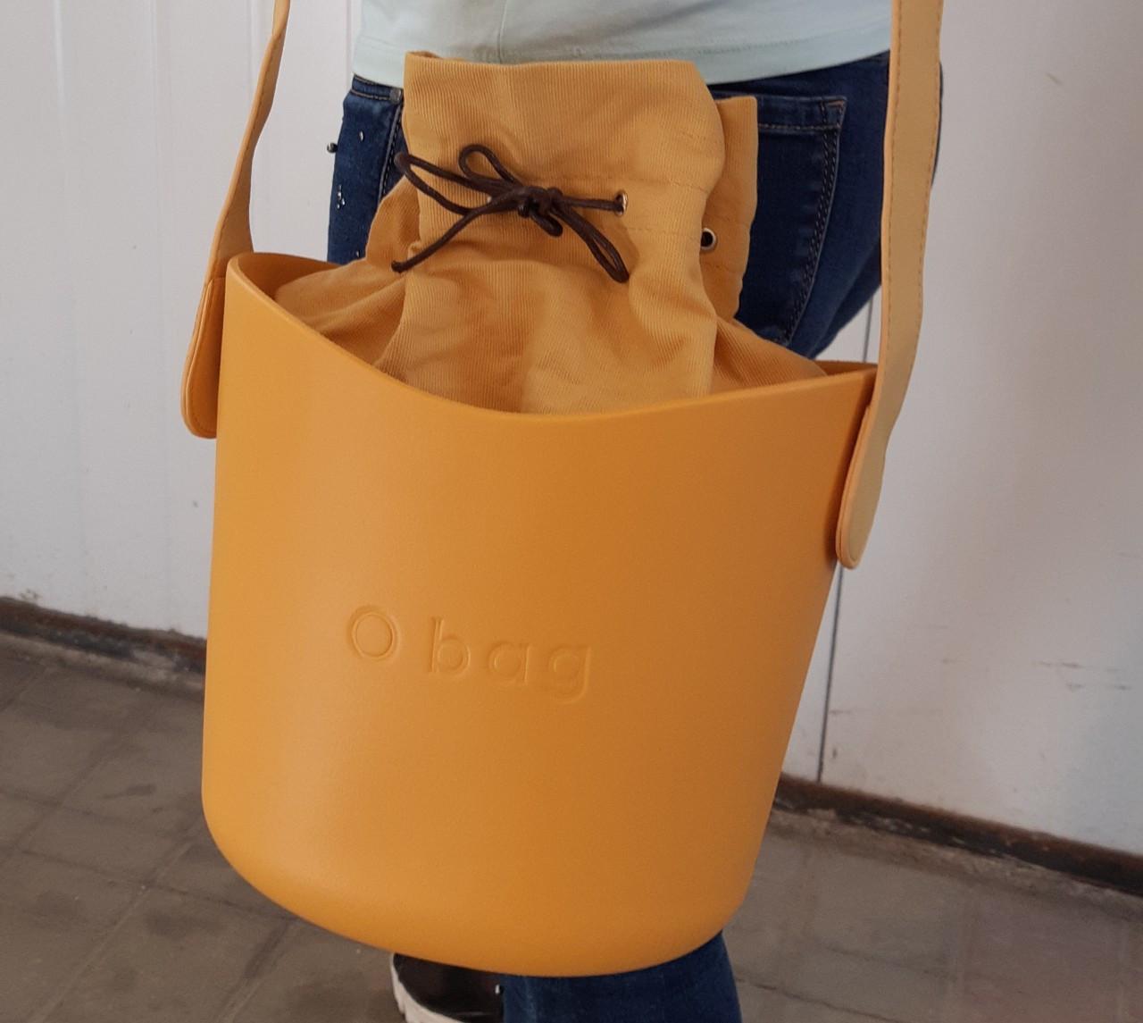 Сумка oBag basket в оранжевом цвете
