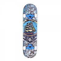Скейтборд Tempish Pro, Black bart/Pin up (AS)