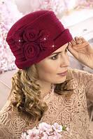 Красивая женская шляпка с цветами Selitana, фото 1