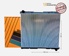 Радіатор без рами [perfekt cooling] SCANIA R [04-],