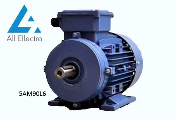 Електродвигун 5АМ90L6 1,5 кВт 1000 об/хв, 380/660В