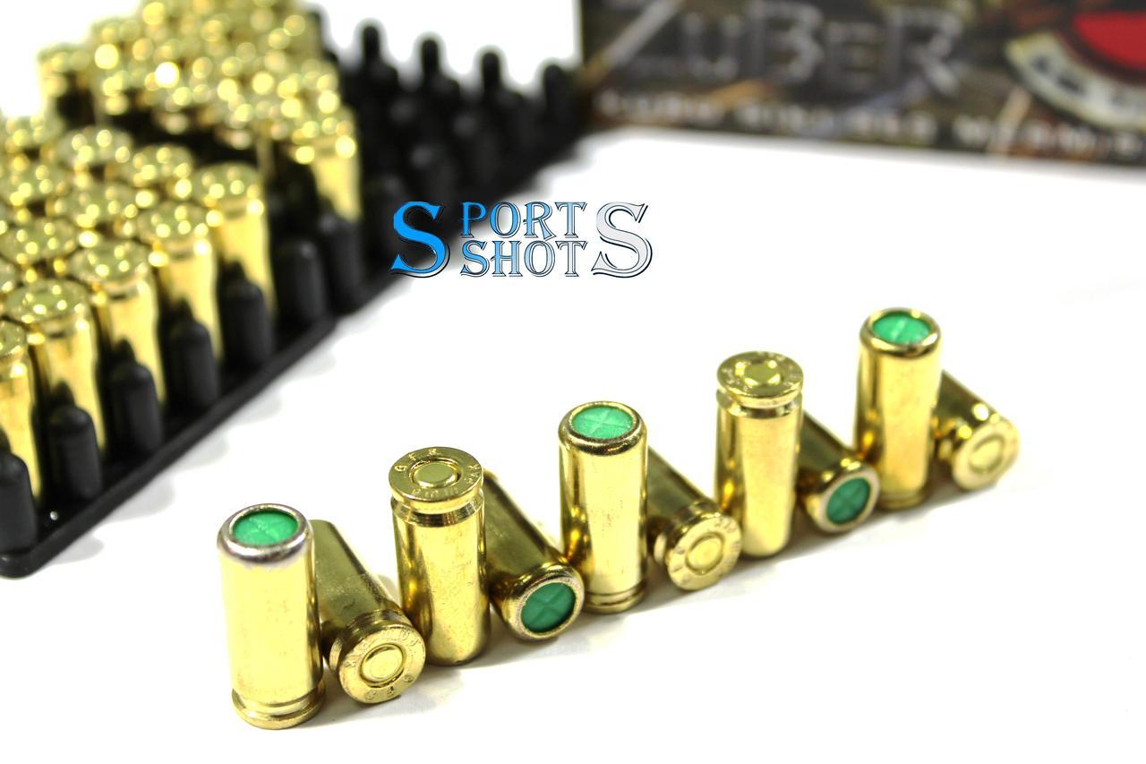 Патрон Zuber 9мм пистолетный холостой (1шт)