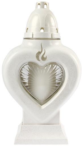 Лампион кремовый Bispol 4 дня 26,5 см (4018-011)