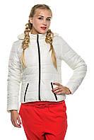 Куртка Карина - молоко: 40,42,44,46,48,50,52,54, фото 1