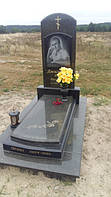 Пам'ятники із зеленого граніту маславка фото