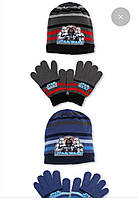 Шапка+перчатки для мальчиков Disney оптом, 52-54 рр, арт. 780-254