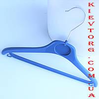 Плечики вешалки для детской одежды и костюмов синие, 30 см