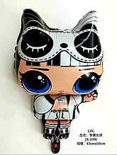 Шар фольгированный кукла лол 83 см