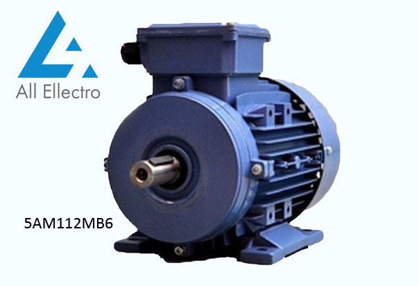 Электродвигатель 5АМ112МВ6 4 кВт 1000 об/мин, 380/660В