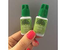 """Клей для наращивания ресниц  """"Aurora green"""" 5 мл"""