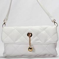 Женская сумка - клатчик Gilda Tohetti белого цвета