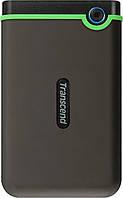 """Внешний жесткий диск 2TB Transcend StoreJet 25M3 Slim 2.5"""" USB 3.0 iron gray (TS2TSJ25M3S)"""