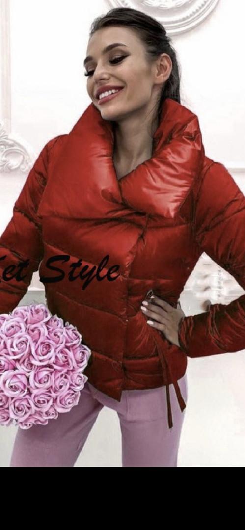 Куртка женская демисезонная на синтепоне 42-46 рр.