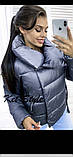 Куртка женская демисезонная на синтепоне 42-46 рр., фото 3