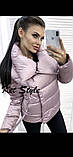 Куртка женская демисезонная на синтепоне 42-46 рр., фото 8