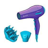 Фен BLOOM ION  2200W 1насадка+диффузор фиолетовый GH2422*